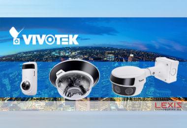 Νέες Η.265 πανοραμικές κάμερες από τη LEXIS και τη VIVOTEK